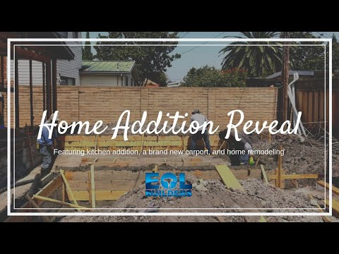Home Reveal –  Featuring kitchen addition, brand new carport, and home remodeling.