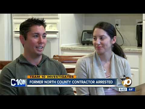 Former North County contractor arrested