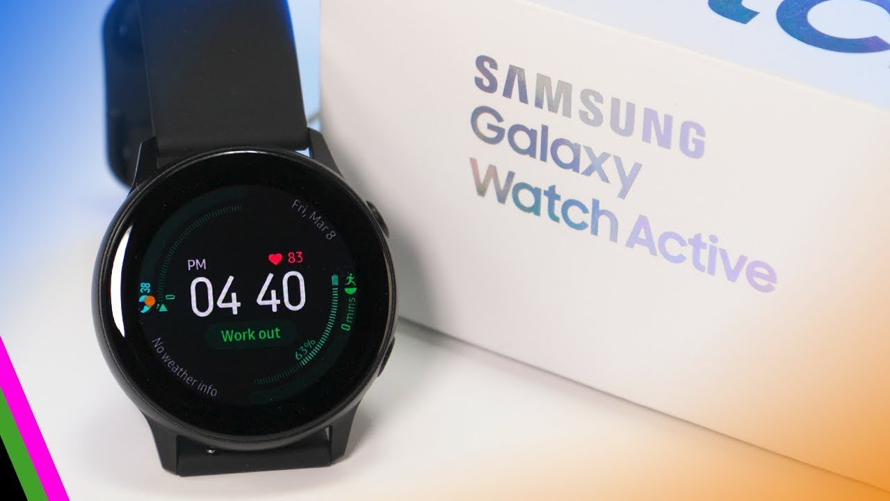 Samsung Galaxy Watch Active // Unboxing & First Impressions! - YouTube