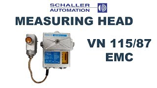 Measuring head for Schaller Visatron VN 115/87 EMC Oil Mist De…
