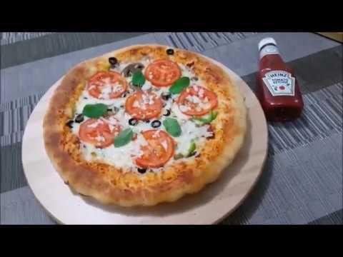صورة  طريقة عمل البيتزا طريقه عمل بيتزا محشيه الاطراف بحشوات مختلفه وعجينه ولا أروع مع زينب زياد طريقة عمل البيتزا من يوتيوب