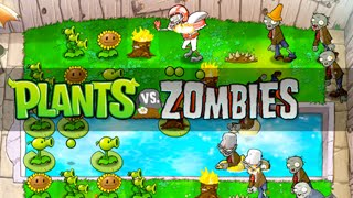 PLANTS VS ZOMBIES night Walkthrough [IOS]