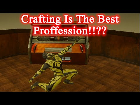 Entropia Universe: CRAFTING IS THE BEST PROFESSION!!???