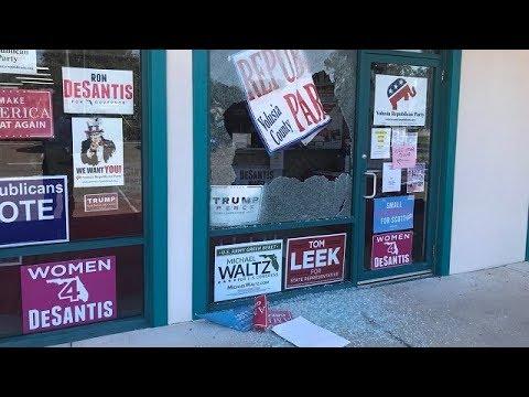 'Divisive Rhetoric' Update: Shots Fired Into GOP Office In South Daytona, Florida