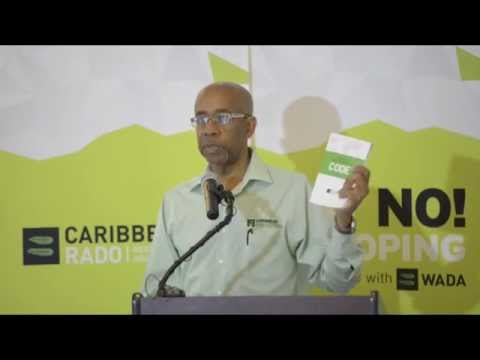 Anti-Doping: A presentation by Barbadian Dr Adrian Lorde