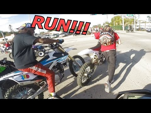 THEY STEAL DIRTBIKE BACK FROM POLICE MLK2018