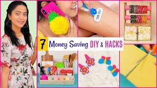 7 Money \u0026 Time Saving DIY \u0026 Hacks | DIYQueen