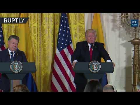 'No, no. Next question': Trump dismisses Comey's claim during press conference