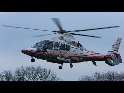 GOPRO: PH-EQU landing at heli-port Emmen