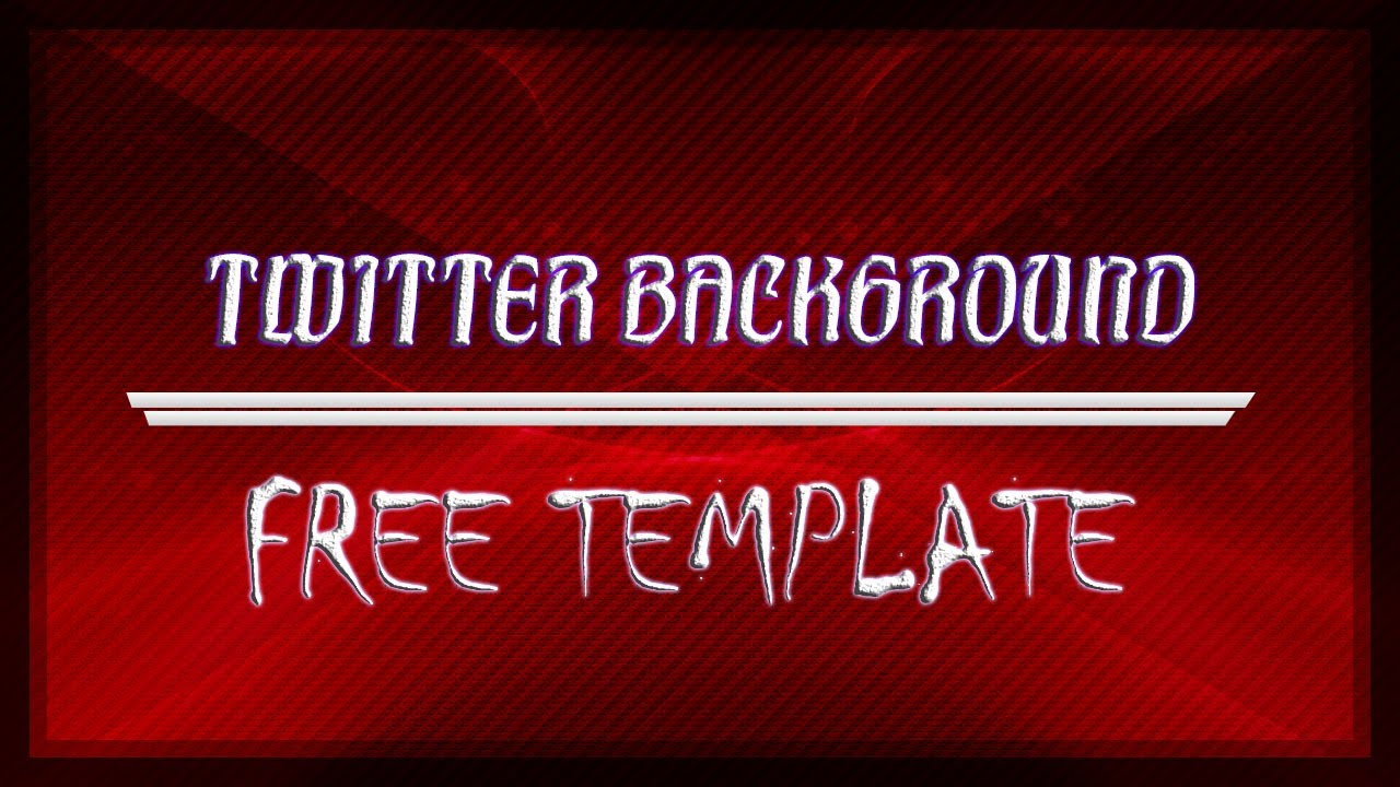 Free Twitter Background Template 2013 No Survey Youtube