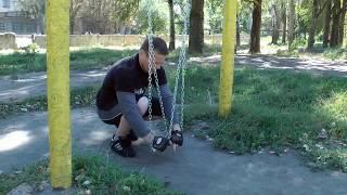 Workout fitness.Уличный фитнес. Как тренироваться на цепях.(1-7)