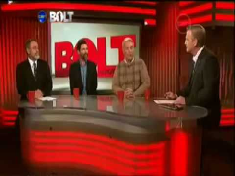 Global Warming, Andrew Bolt interview with Scientists