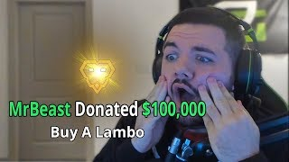 Download Donating $100,000 To A Random Fortnite Streamer Mp3 and Videos