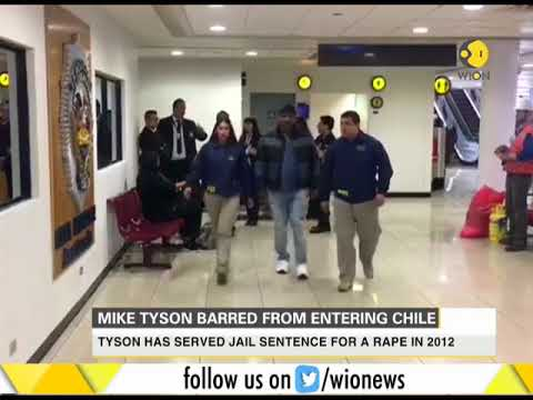 Mike Tyson barred from entering Chile