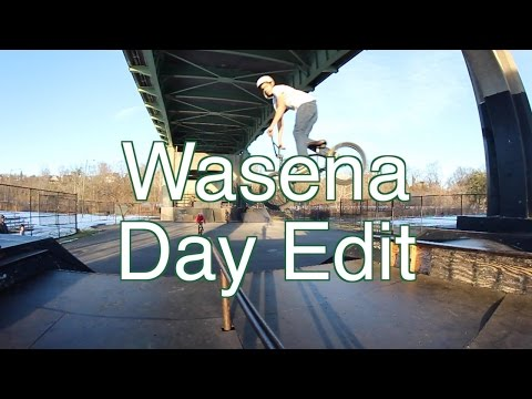 Wasena Skatepark | BMX Day Edit