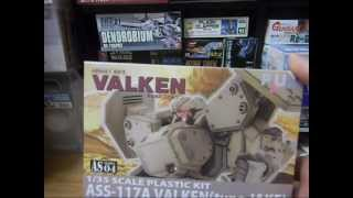 Video game plastic model unboxings: R-Type, Valken, Raystorm, Metal Slug