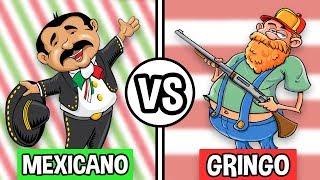 El Mexicano Promedio vs El Gringo Promedio