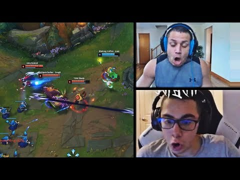 TYLER1 REACTS TO INSANE 120 PING LULU JUKING EVERYTHING | TFBLADE FINDS A BROKEN JAYCE MECHANIC |LOL