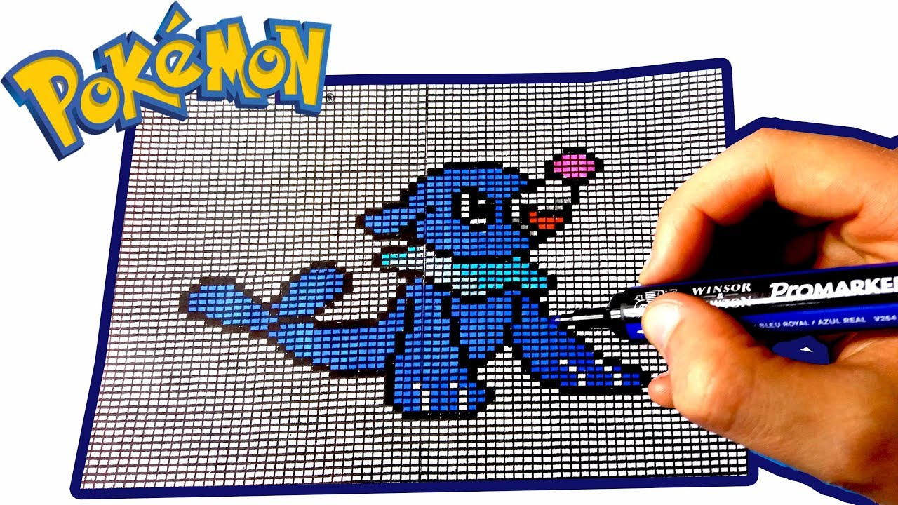 PIXEL ART POKEMON : OTAQUIN / POPPLIO - YouTube