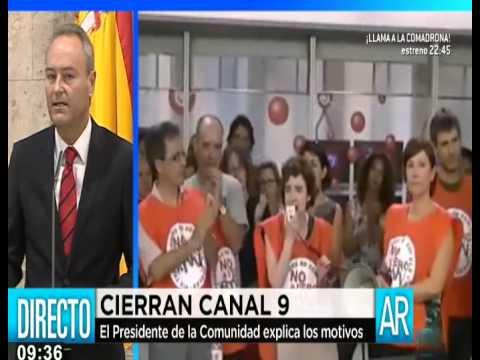 Cierre de Canal 9 ( RTVV )
