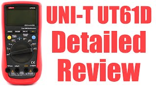 uni-T UT61D Multimeter Detailed Review - #0092