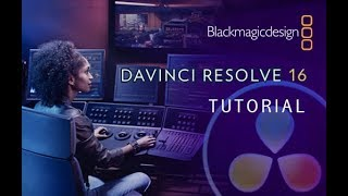 DaVinci Resolve 16 - Tutorial for Beginners [+Overview] - 16 MINS!