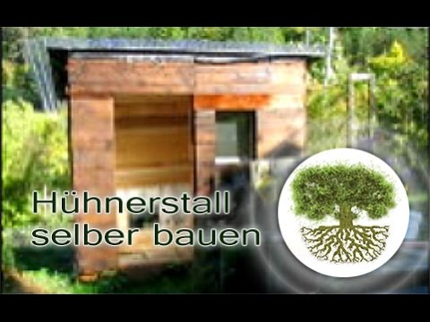 diy h hnerstall selber bauen das geb ude heimwerken 4 youtube. Black Bedroom Furniture Sets. Home Design Ideas