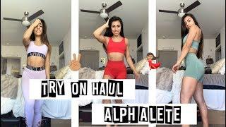 Alphalete Try on Haul