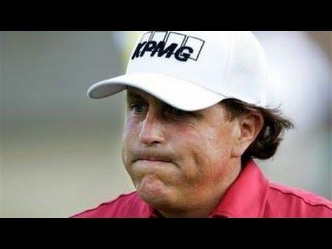 Golfer Phil Mickelson nabbed for insider trading