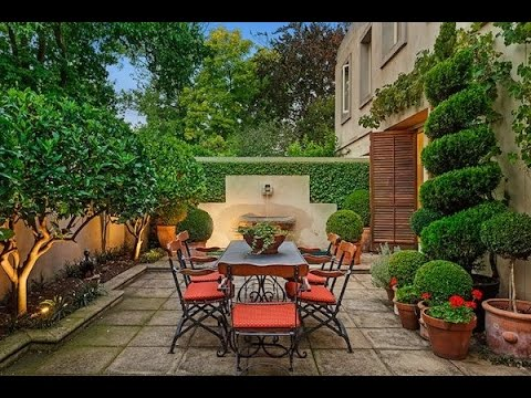 mediterranean garden designs youtube. Black Bedroom Furniture Sets. Home Design Ideas
