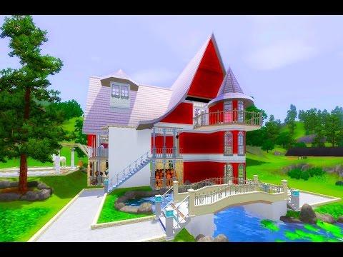 Sims 3 Дом деда Мороза