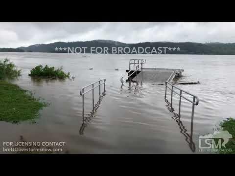 7-24-18 Columbia, PA Flooding