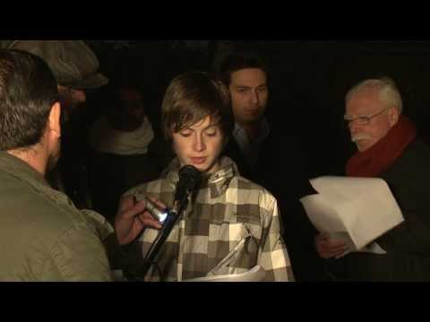 Commemoration at the old Jewish Cemetery 2010