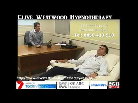 Hypnotherapy Adelaide Clive Westwood   fear of falling Hypnosis