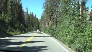 Driving The Trail Ridge Road Through Rocky Mountain National Park (HD)
