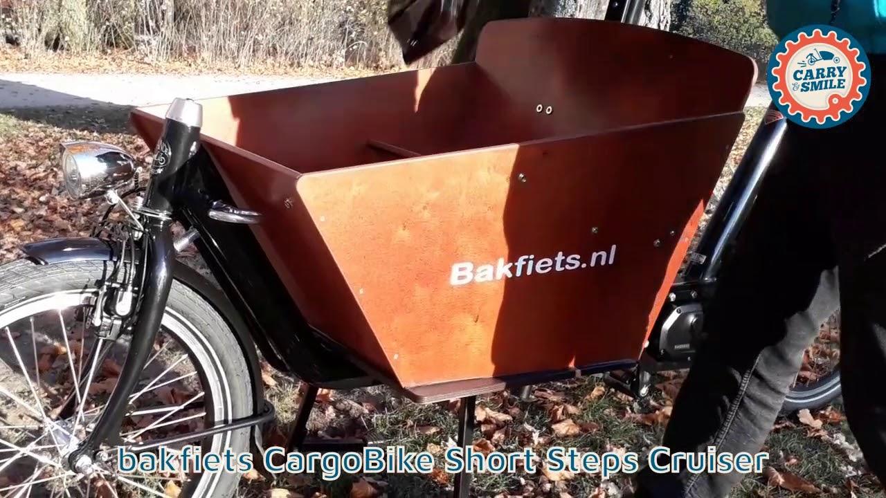 Verbazingwekkend Lastenrad bakfiets CargoBike Cruiser Short Steps | carry & smile BR-77