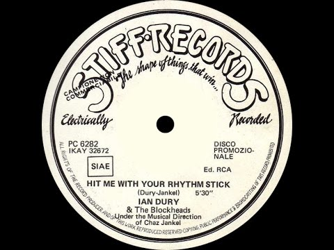 Ian Dury And The Blockheads - Hit Me With Your Rhythm Stick (Disco Version) 1978