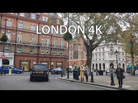 London Drive 4K - Exclusive Chelsea - UK