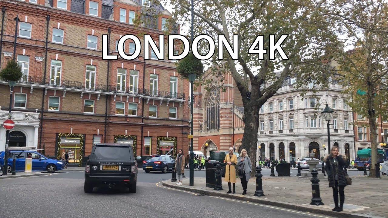 London 4k British Celebrity Driving Downtown Chelsea London England Youtube
