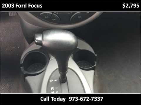 East Orange Focus >> 2003 Ford Focus Used Cars East Orange Nj Youtube