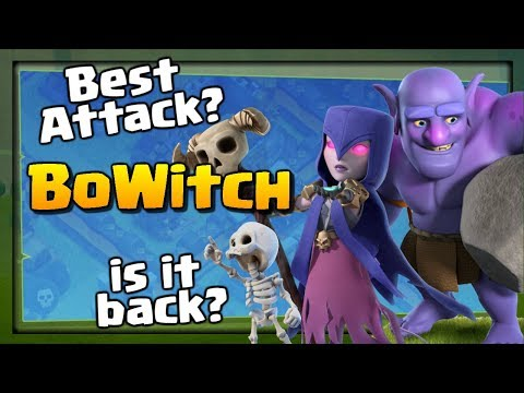 Is BOWITCH Back? The Best Attack Strategy for TH12? Clash of Clans