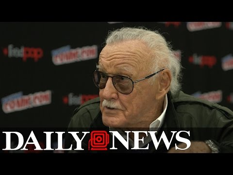 Stan Lee muses on his final New York Comic Con