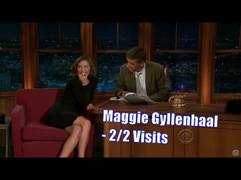 "Maggie Gyllenhaal - Wants A Tramp Stamp Saying ""Mrs. Sarsgaard"" - 2/2 Visits In Chronological Order"