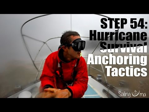 HURRICANE SURVIVAL ANCHORING TACTICS (Staying on your boat)