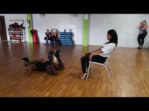 Rocket Beyoncé coreografia strip dance/ Aula Stiletto Dia dos namorados