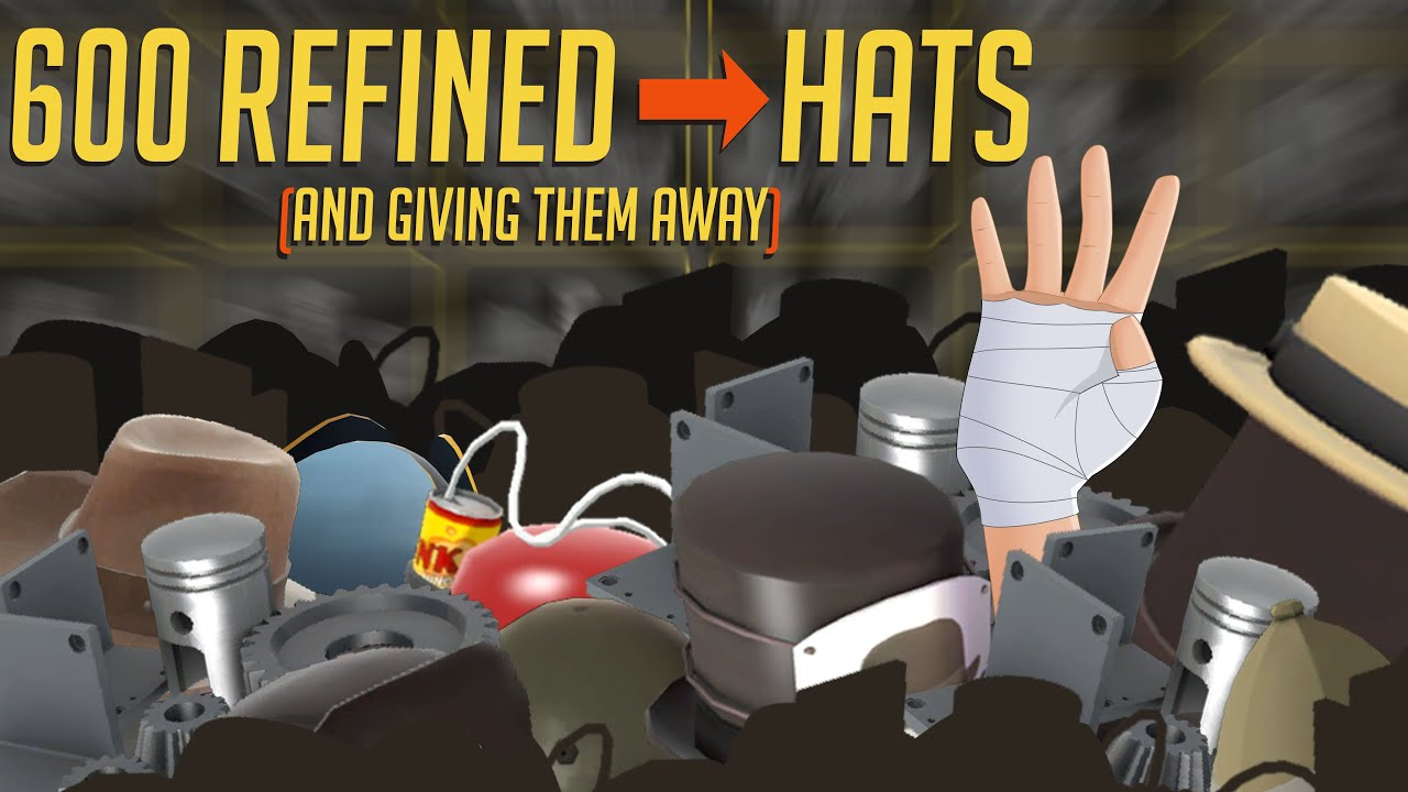 Crafting 600 Refined Metal Into Hats and Giving Them Away! (Ended!)