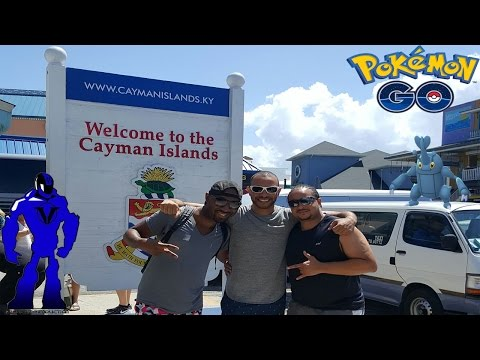 Pokemon Go On The Open Seas (Part 2): Georgetown, Grand Cayman Island