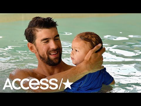 Michael Phelps On Son Boomer's Swimming Talent: 'His Kick Is Insane'
