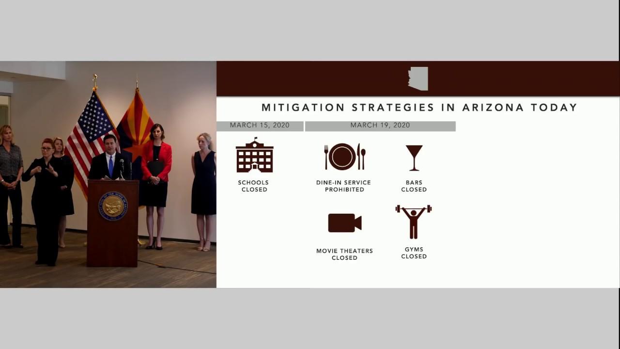 Live Arizona Coronavirus Updates New Cases Closures Advisories