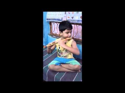 Amazing Flute By 5 yr Kid